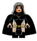 Raven (Black) - Custom Designed Minifigure